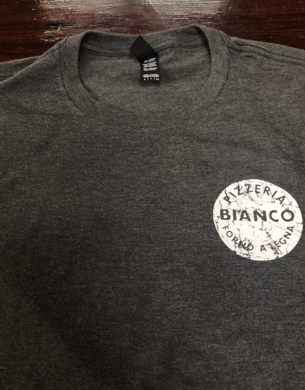 Pizzeria Bianco Original Charcoal Grey T-Shirt