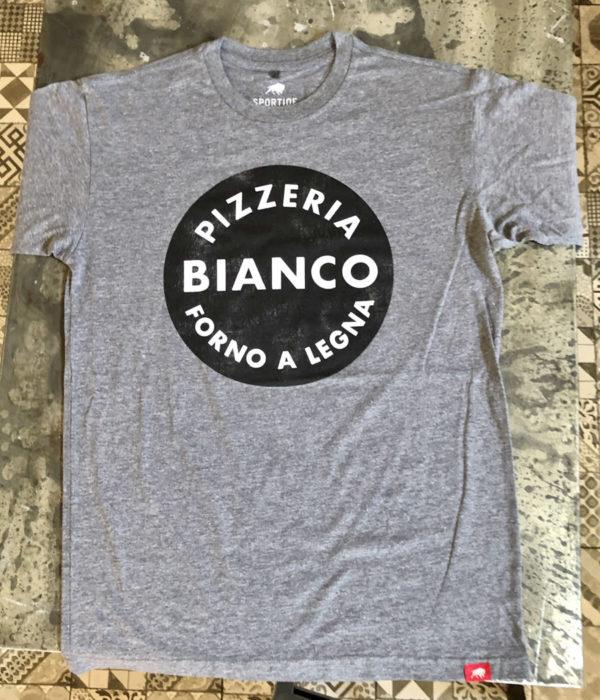 Bianco Circle Logo T-Shirt - Light Grey